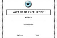 016 Award Certificate Template Word Ideas Free Templates with Attendance Certificate Template Word