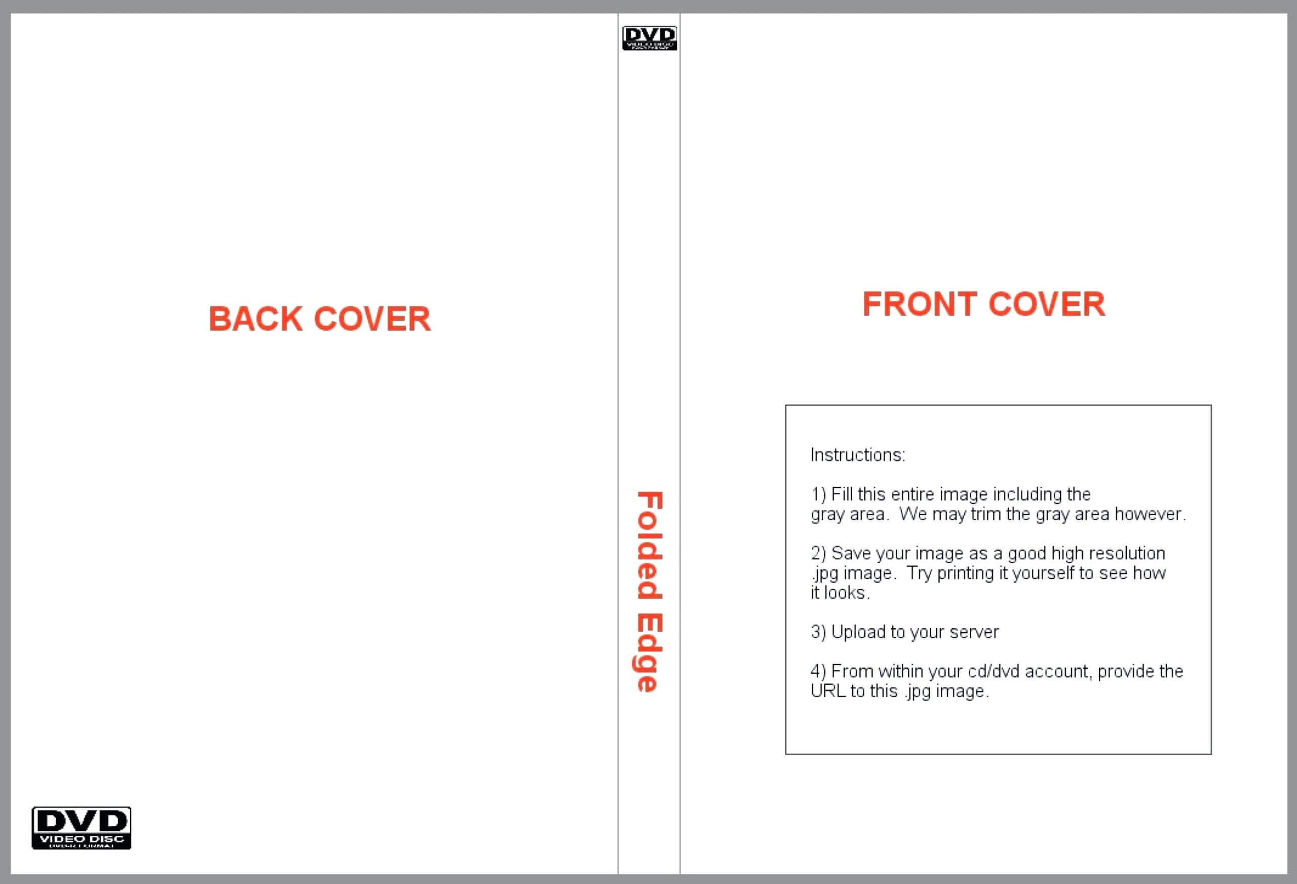016 Template Ideas Printable Sleeve Case Insert Luxury Blank Within Blank Cd Template Word