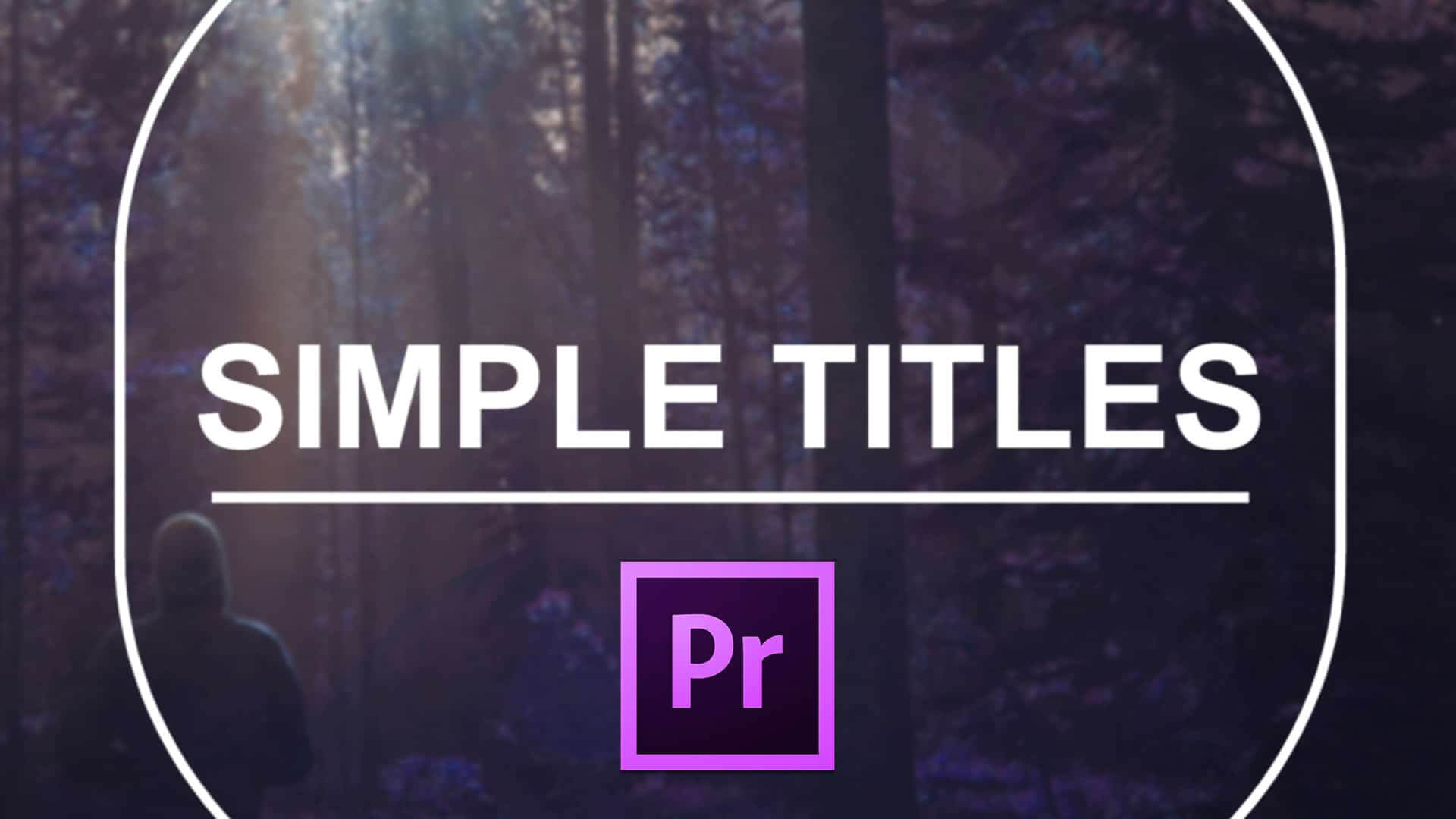 016 Template Ideas Simple Titles Premiere Pro Adobe Throughout Adobe Premiere Title Templates