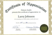 018 Certificate Of Appreciation Template Word Free within Certificate Of Appreciation Template Free Printable