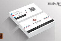 019 Business Card Template Ai Incredible Ideas File Free pertaining to Adobe Illustrator Card Template