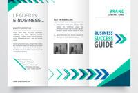 019 Business Tri Fold Brochure Template Design With Vector regarding Adobe Illustrator Tri Fold Brochure Template