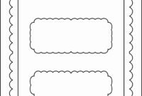 019 Chocolate Bar Wrapper Templates Template Ideas with Candy Bar Wrapper Template For Word
