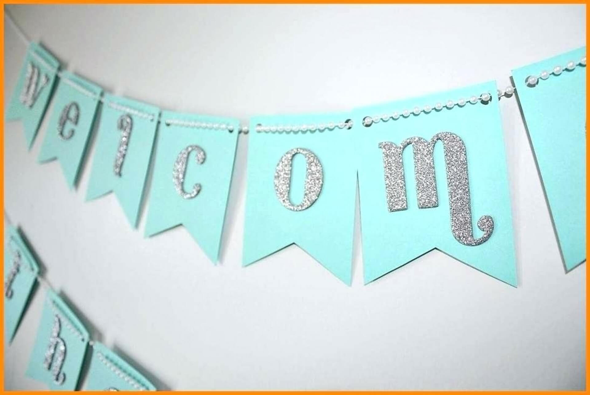 019 Template Ideas Baby Shower Banner Templates Fearsome Within Baby Shower Banner Template