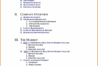 021 Real Estate Business Plan Template Ideas Letter throughout Business Plan Template For Real Estate Agents
