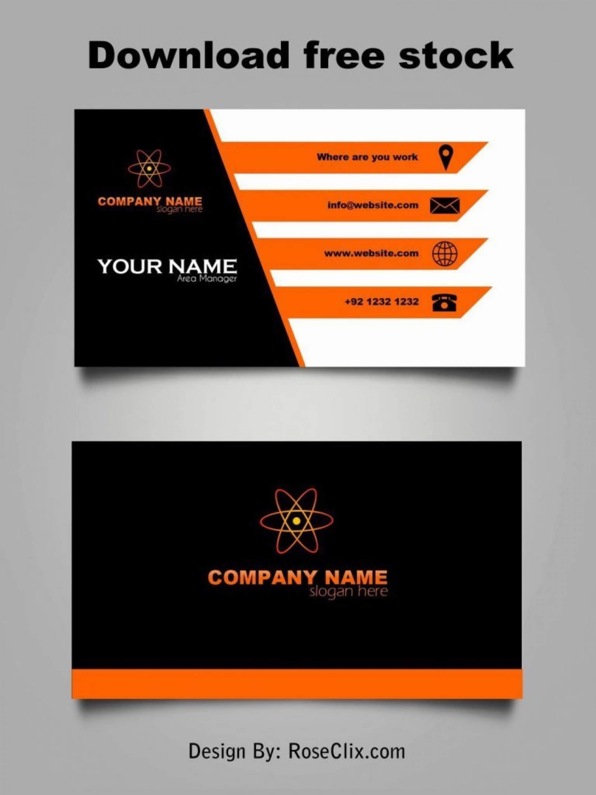 021 Template Ideas Business Card Blank Free Download Quote Within Business Card Maker Template