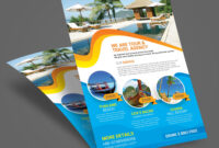 021 Travel Brochure Templates Free Download For Publisher with regard to Bus Trip Flyer Templates Free