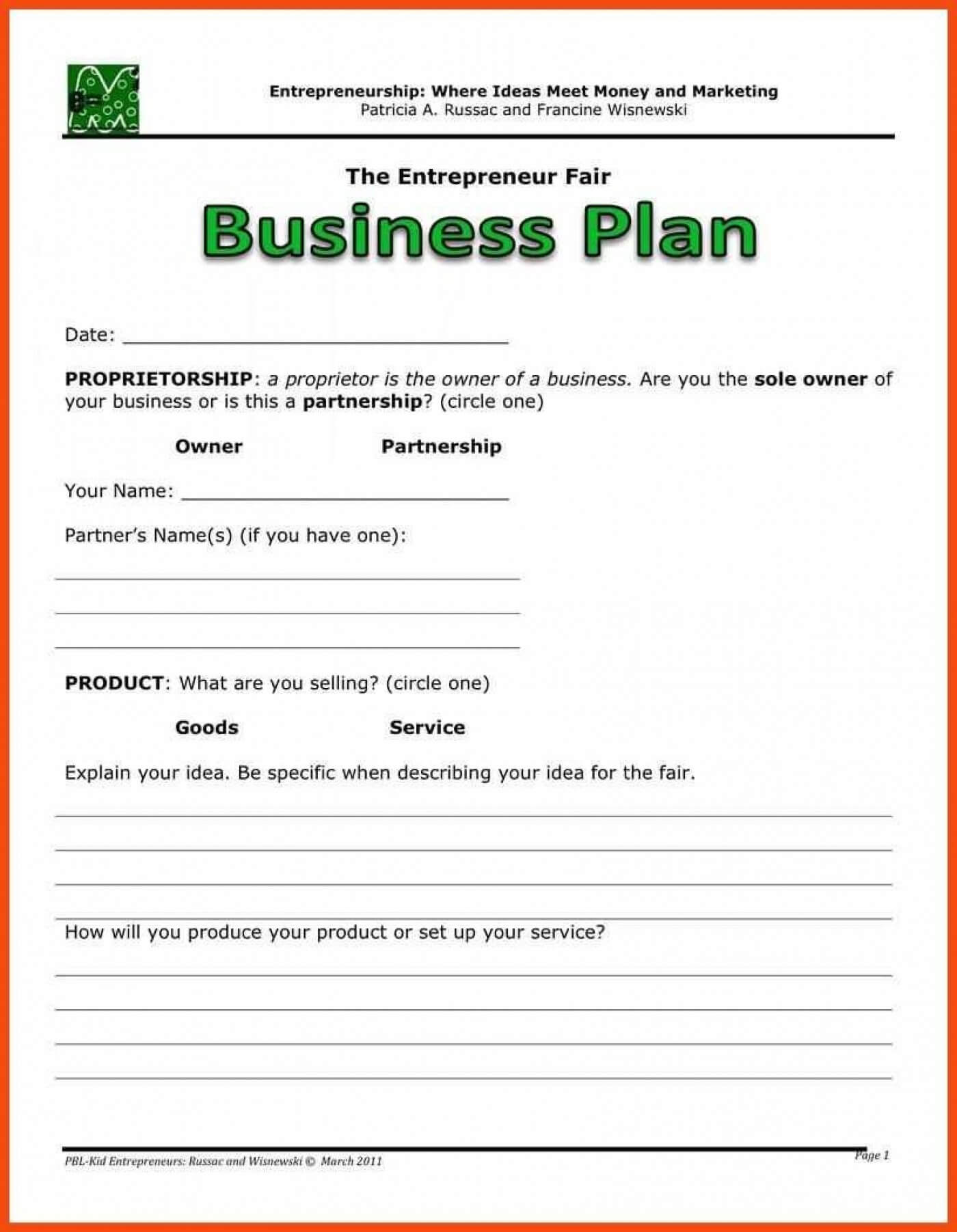 022 Business Plan Template Free Word Download In Business Plan Template Free Word Document