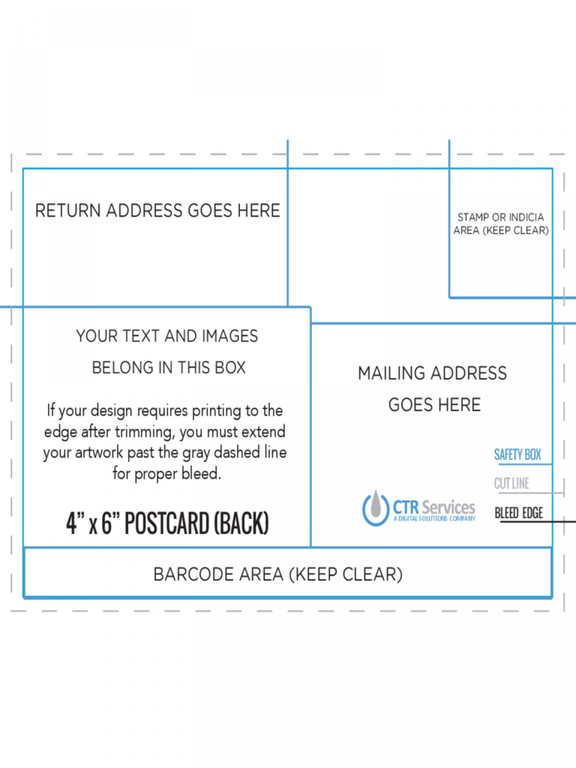 022 Free X Templates And Postcard Back Template Rare 4 6 With Regard To 4 X 6 Postcard Template