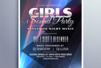 022 Template Ideas Event Flyer Templates Free Download Girls within Charity Event Flyer Template