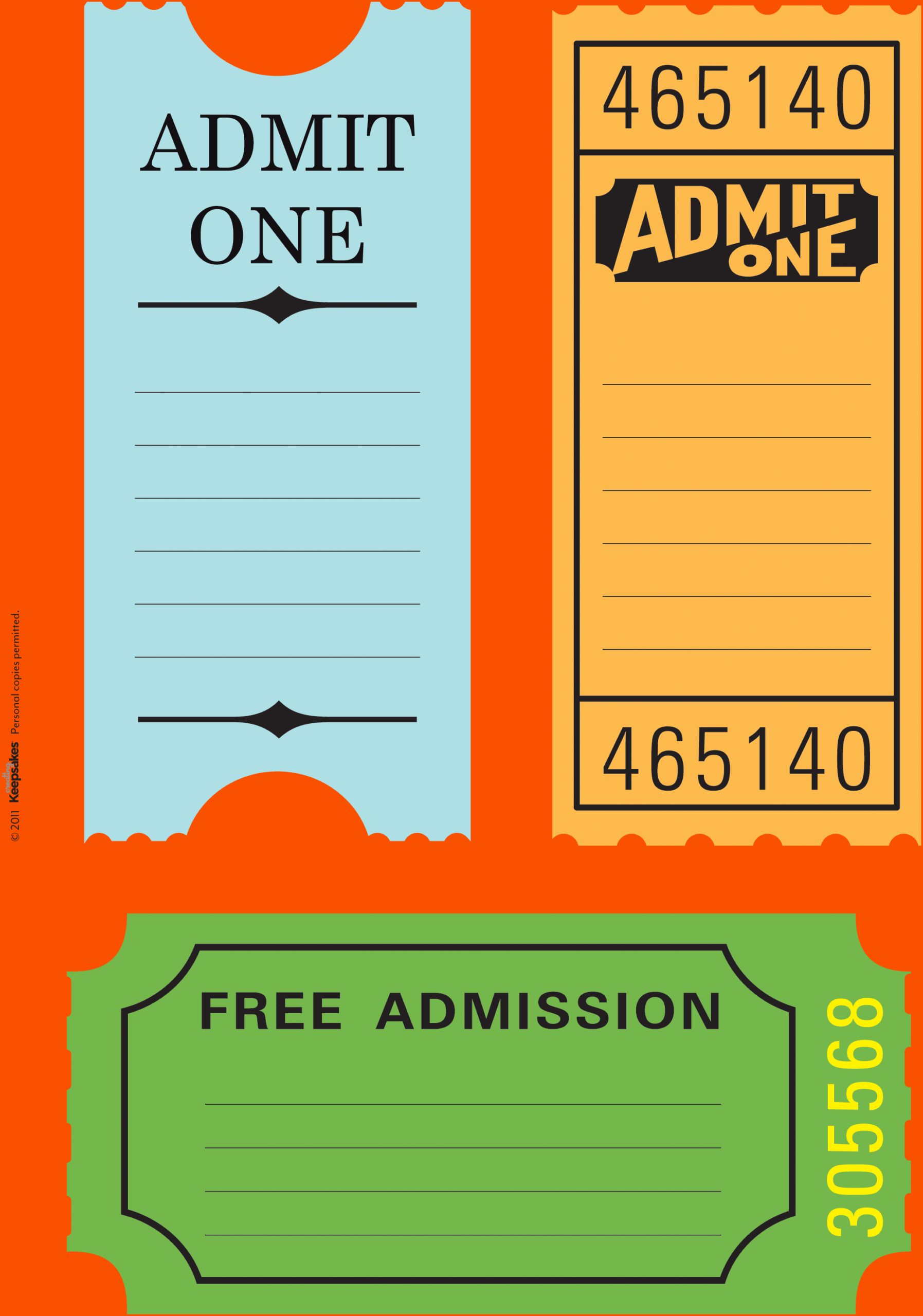 023 Free Printable Ticket Templates Travel Tickets Inside Blank Admission Ticket Template