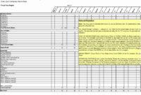 025 Template Ideas Business Plan Financialtions Excel inside Business Plan Financial Projections Template Free