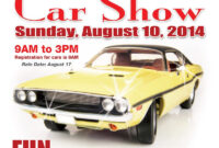 025 Template Ideas For Car Show Flyer With Job Outstanding with Car Show Flyer Template