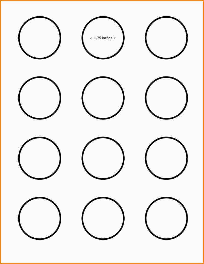 025 Template Ideas Inch Best 1 Circle Bottle Cap 1/2 Label With 2 Inch Circle Template