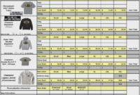 026 Apparel Order Form Template Ideas Systematic Functional with Apparel Order Form Template
