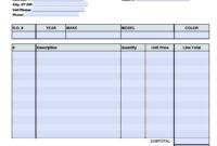 026 Auto Repair Invoice Templates Template Ideas Staggering with Cell Phone Repair Invoice Template