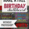 027 Chalkboard Poster Template Free Excellent Ideas First Inside Chalkboard Poster Template
