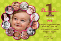028 1St Birthday Invitation Template Free Anniversary regarding 1St Birthday Invitation Templates Free Printable