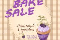 028 Bake Sale Flyer Templates Free Template Ideas Colorful pertaining to Bake Sale Flyer Template Free