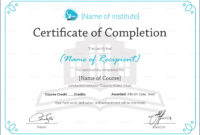 028 Microsoft Word Certificate Of Completion Template Free with Certificate Of Completion Word Template