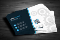 030 Blank Business Card Template Psd Free Mockup Brochure with regard to Blank Business Card Template Download