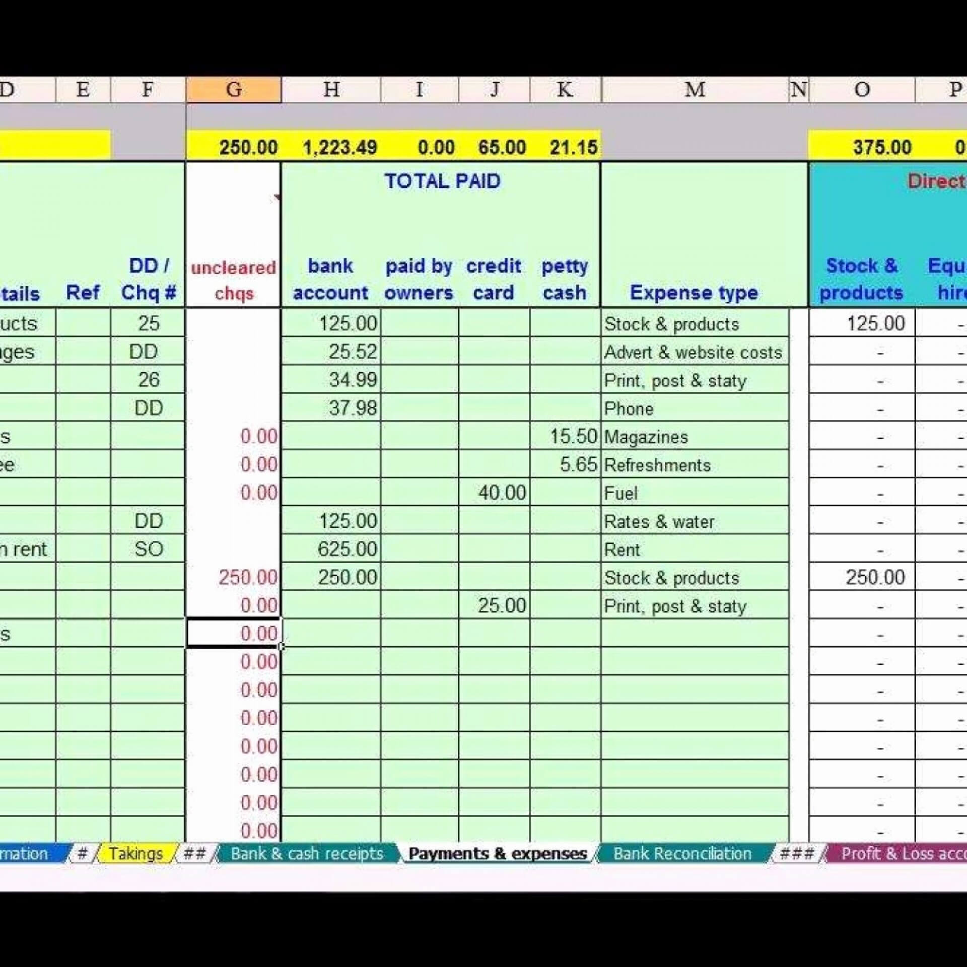 030 Excel Templates For Small Business Template Ideas Free Pertaining To Business Accounts Excel Template