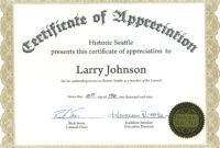 030 Extraordinary Certificate Of Appreciation Template for Certificate For Years Of Service Template