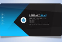 030 New Pictures Of Business Card Template Powerpoint Free for Business Card Template Powerpoint Free