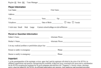 030 Template Ideas Free Printable Camp Registration Form inside Camp Registration Form Template
