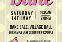 031 Bake Sale Flyer Templates Free Template Ideas pertaining to Bake Sale Flyer Free Template