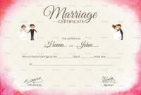 031 Certificate Of Marriage Template Certificate28129 with Certificate Of Marriage Template