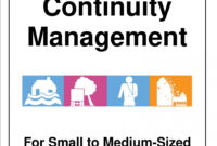 031 Simple Business Continuity Plan Sample Examples Template within Business Continuity Plan Template Canada