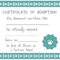 032 Template Ideas Blank Service Dog Certificate Screen Shot Intended For Blank Adoption Certificate Template