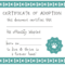 032 Template Ideas Blank Service Dog Certificate Screen Shot Within Adoption Certificate Template
