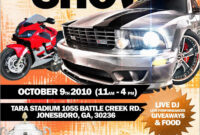 033 Auto Flyer Templates Awesome Show Template within Car Show Flyer Template