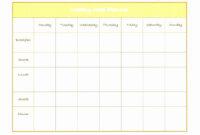 033 Menu Planner Template Excel Beautiful Weekly Diet Plan with regard to Camping Menu Planner Template