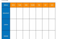 033 Monthly Mealner Template Excel Ideas Menu Free Photo within Camping Menu Planner Template