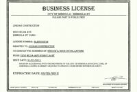 034 Free License Certificate Template Besttemplatess9 pertaining to Certificate Of License Template