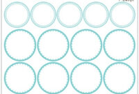 036 Free Printable Mason Jar Labels Label Template within Canning Jar Labels Template
