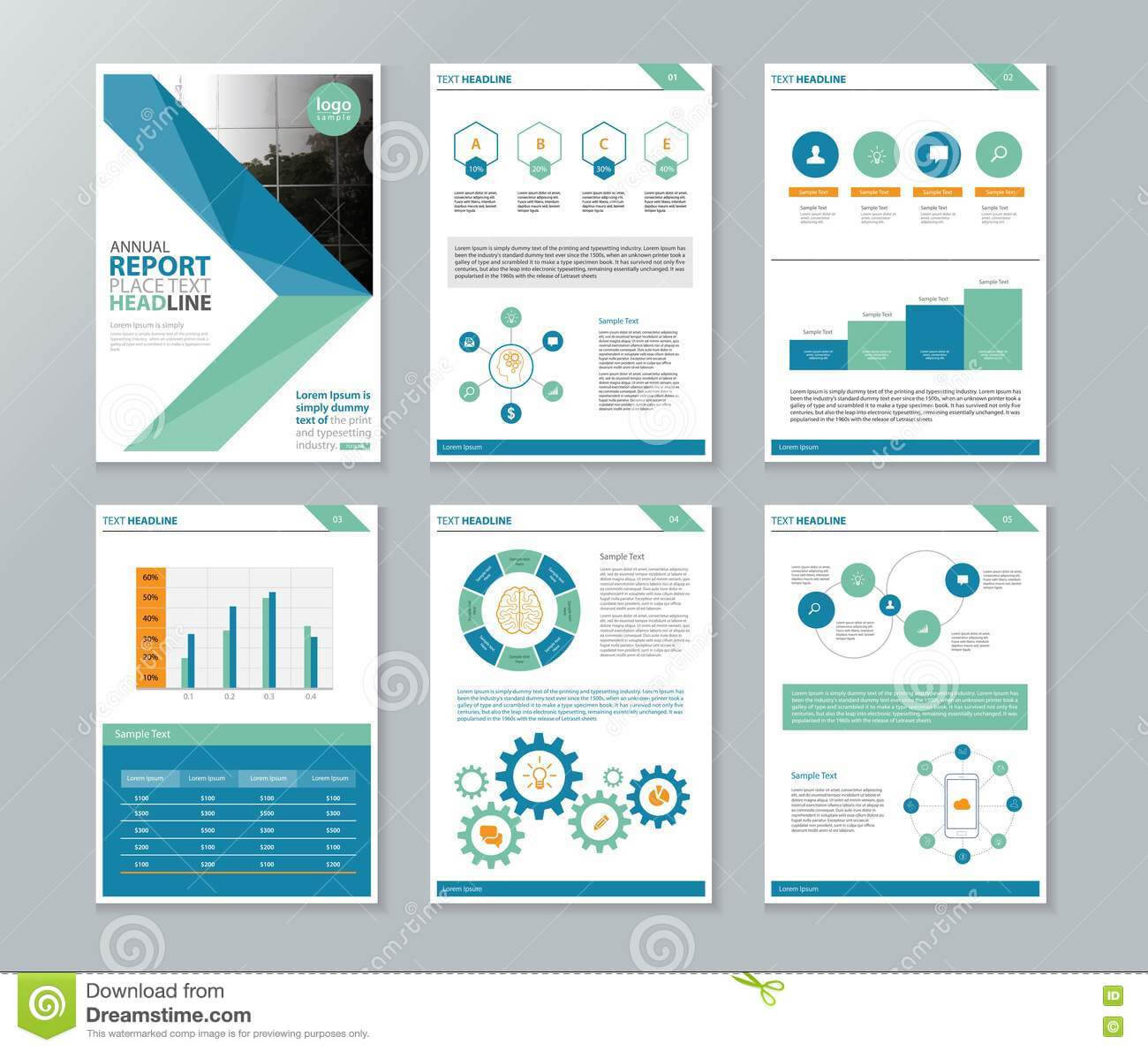 038 Annual Report Template Word Company Profile Brochure With Regard To Annual Report Template Word Free Download
