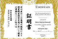 038 Karate Certificate Templates Free Download Home Martial within Art Certificate Template Free