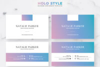 039 Business Card Template Ai Ideas Holo Style Incredible with Adobe Illustrator Business Card Template