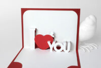 041 Template Ideas Pop Up Cards Templates Iloveu Shocking intended for 3D Heart Pop Up Card Template Pdf