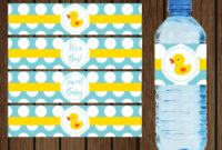 042 Water Bottle Labels Template Free Baby Shower Printable in Baby Shower Bottle Labels Template