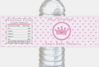 043 Water Bottle Labels Template Free Baby Shower Ideas with Baby Shower Water Bottle Labels Template