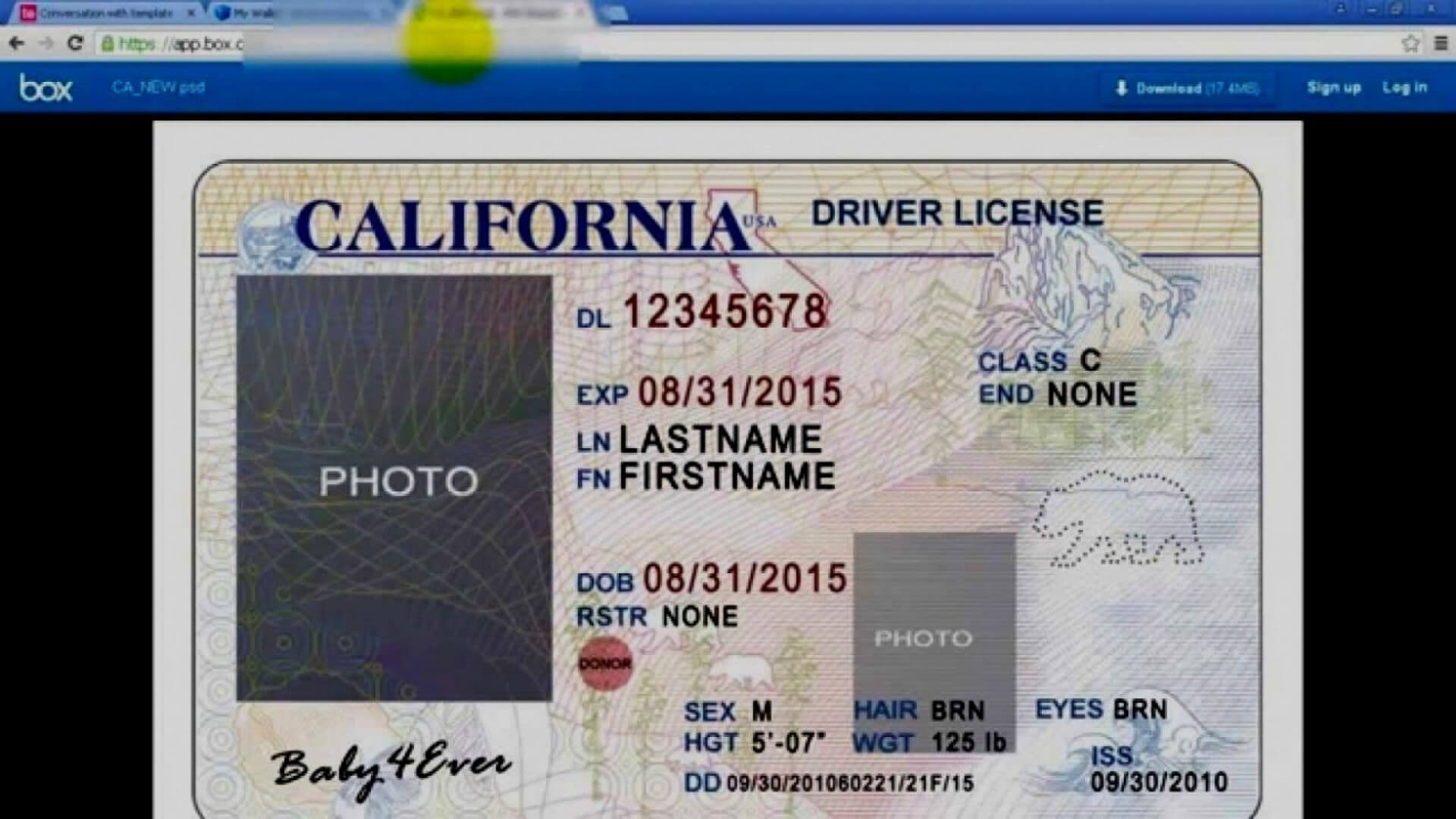 045 Id2Bcard2Btemplate2Bfront Blank Id Card Template Psd In Blank Drivers License Template