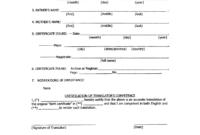046 Template Ideas Free Birth Certificate Impressive Puppy regarding Birth Certificate Translation Template Uscis
