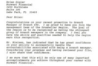 10+ 407 Letter Sample | Billy Star Ponturtle for 407 Letter Template