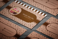 10+ Free Professional Bakery Business Cards Templates On in Cake Business Cards Templates Free
