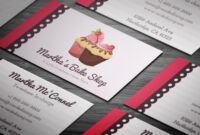 10+ Free Professional Bakery Business Cards Templates On with Cake Business Cards Templates Free